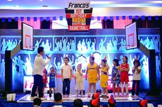 Franco's Basketball Themed Party – Games