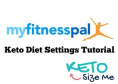 My Fitness Pal Keto: Ketogenic Diet Settings Tutorial for using My Fitness Pal on the keto diet.