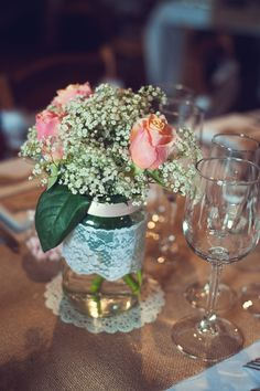 mariage fleurs dcoration table magda laze photographie le mans sarthe abbaye