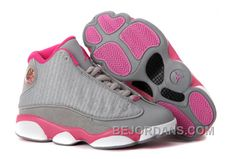 http://www.bejordans.com/big-discount-girls-air-jordan-13-retro-gray-pink-white-for-sale-6e2cc.html BIG DISCOUNT! GIRLS AIR JORDAN 13 RETRO GRAY PINK WHITE FOR SALE 6E2CC Only $85.00 , Free Shipping!