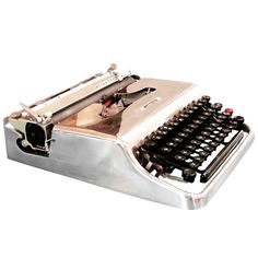 c.1950 Beautiful Italian made Olivetti Lettera 22 typewriter By; Marcello Nizzoli... Italy