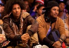 Larry Bourgeois and Laurent Bourgeois | Les Twins