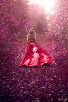 Every time she dashed out to meet him in the orchard in secret, she felt hope swell in her heart, and she couldnt help noticing that the world turned lavender  crimson to match her desire. Must be fairy magic...