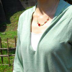 ALILA necklace by joid'art SS14 #joidart #necklace #enamel