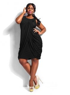 Monif c black dress victorian