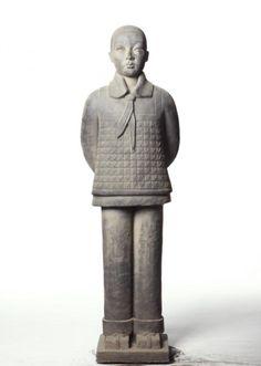 Prune Nourry Terracotta Daughter #8 Jianwei, 2013 Terracotta, Buddha, Daughter, Sculpture, Statue, Artist, Artists, Sculpting, Sculptures