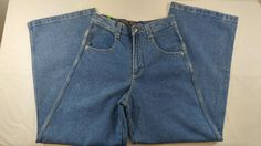 Solo Semore Jeans 100% Cotton Size 28 Made in USA Baggy New With Tags #SoloSemore #NA