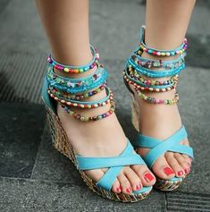 Boho Chic Casual and Party-Wear Shoe Styles | Bohemian Style Ideas