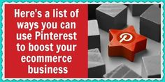 5 Low hanging ways to use Pinterest to boost your business Welcome To The Group, Pinterest For Business, Pinterest Marketing, Gift For Lover, Ecommerce, Best Gifts, Canning, Tips, E Commerce