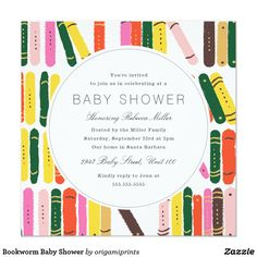 Storybook themed Baby Shower Invitations
