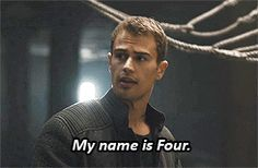 Pin for Later: 28 Reasons Theo James Is Your Favorite Part of the Divergent Series Meet Four.