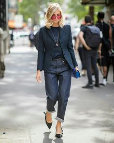 PARIS, FRANCE - JUNE Xenia Adonts is seen outside Dior Homme on day five of Paris Fashion Week Menswear on June 2018 in Paris, France. (Photo by Christian Vierig/Getty Images) 50 Fashion, Fashion Week, Fashion Outfits, Womens Fashion, Fashion Design, Paris Fashion, Estilo Fashion, Trendy Fashion, Streetwear