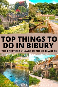 Bibury is one of the quaintest villages in the Cotswolds and is home to the iconic Arlington Row! Here is a complete guide with things to do in Bibury Cotswolds Arlington Row, Stuff To Do, Things To Do, Ultimate Travel, Adventure Is Out There, Day Tours, Cool Places To Visit, American Indians, American Art