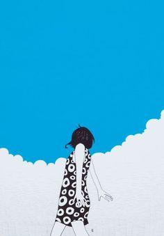 "cafeinevitable: "" Blue Skies by Nimura Daisuke """