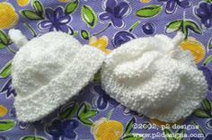 Charity Pattern - Preemie Hat in 2 Variations (knit)