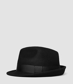 7a1a1047e6d Mens Charge Trilby (Black) - product image alt text 1 Mens Clothing Styles