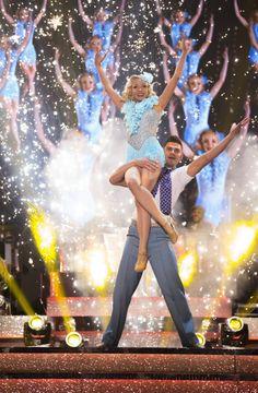 Strictly Come Dancing 2015 - Week 9 - Helen George and Aljaz Skorjanec