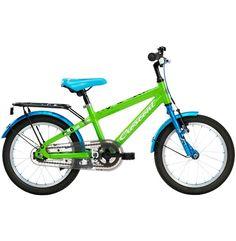"""Crescent Gorm är favoritcykeln med ofantligt snygg design och massor av utrustning. En riktigt praktisk och prisvärd cykel med 16""""-hjul och riktig fotbroms."""