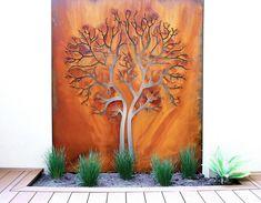 garden wall art perth