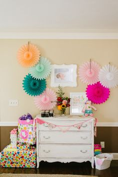 Violet's Wildflower Themed First Birthday Party | The Little Umbrella