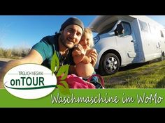 Waschmaschine im Wohnmobil | Camping Autark | Wäsche waschen Camping, Content, Vegan, Videos, Music, Youtube, Washing Machine, Rv, Campsite