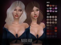 Magnificent Naira Hair Found in TSR Category 'Sims 4 Female Hairstyles' The post Naira Hair Found in TSR Category 'Sims 4 Female Hairstyles'… appeared first on Trendy Haircuts . Sims 4 Hair Male, Sims 4 Black Hair, Sims Hair, Sims 4 Mods Clothes, Sims 4 Clothing, Sims Mods, Sims 4 Tsr, Sims Cc, Cute Hairstyles For Medium Hair
