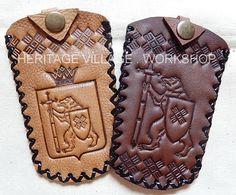 Сувениры Марий Эл - кожаный  футляр для ключей  ручной работы . #футляры , #герб , #марий_эл , #йошкар_ола , #кожа , #handmade , #keyholder , #mari_el , #yoshkar_ola  , #russia