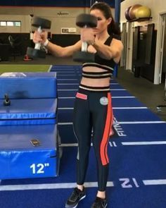 """6,947 Likes, 42 Comments - Alexia Clark (@alexia_clark) on Instagram: """"Sweat and Burn Circuit This makes a great Burnout too! 1&2 40seconds each no rest Extremely…"""""""