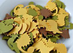 Dinosaur Birthday Party Confetti (100 pieces)