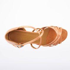 "sz5.5-9.5 International 2.5/"" Bela Dark Tan Women/'s Latin Rhythm Dance Shoes"