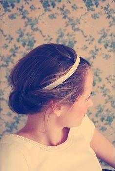 Accessoires mariée coiffure mariage headband wedding bride
