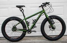 Salsa Mukluk Fat Bike with Rohloff SPEEDHUB 500/14 XL