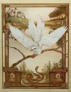 The Dove and the Snake (Aesop's Fables) by Heidi Holder