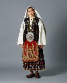 Ensemble  Early 20th Century  Sarakatsani People, Peloponnese, Greece  TEXMEDIN