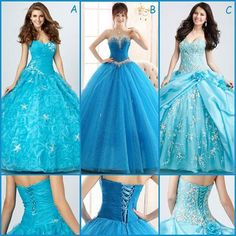 Blue Quinceanera dresses!Do u love?