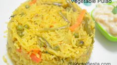 Vegetable Pulao simple and easy to cook