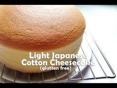 How to make Light Japanese Cotton Cheesecake (Gluten Free)
