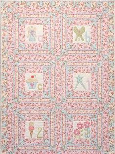 Always a Princess Quilt FREE Pattern Download available at connectingthreads.com