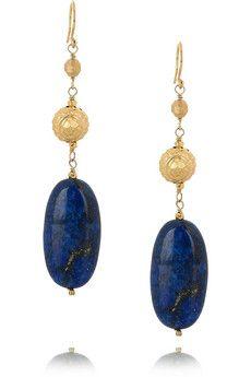 Chan Luu Lapis earrings.  I LOVE this whole lapis line!