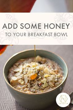 For naturally sweet start to the day our Honey and Oatmeal Power Bowl can't be beaten. Packed full of oats and nuts, our antimicrobial honey adds in a level of sweetness, as well as valuable antioxidants too. Find the recipe on our website. If you sign up to the newsletter, you'll receive 20% off your fist purchase. #luxuryhoney #jarrahhoney #redgumhoney #recipes #nectahive #antimicrobialhoney Gluten Free Porridge, Australian Honey, Power Bowl, Best Honey, Did You Eat, Intuitive Eating, Mindful Eating, Breakfast Bowls, Nut Butter