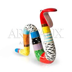 Niloc Pagen Moving snake Multicolor colorfull animal. Available in 3 sizes