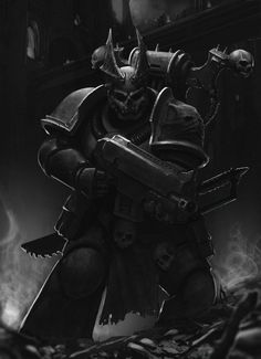 Warhammer 40000,warhammer40000, warhammer40k, warhammer 40k, ваха, сорокотысячник,фэндомы,Night Lords,Chaos (Wh 40000),undivided