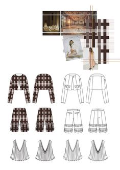 Fashion Sketchbook - fashion design drawings; fashion student portfolio // Florence Bourne Orme