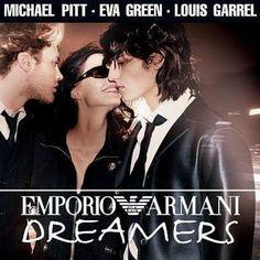 #michaelpitt #thedreamers #evagreen #louisgarrel