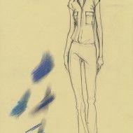 Irina Ternauciuc – Fashion sketch 13