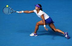 Li Na of China.  Australian Open, January 2012.  #tennis