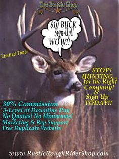 $10 BUCK SIGN UP ENDS 11-19-14..Then it goes back up too $25,,,So now is the perfect time to Start your own DS WORK FROM HOME BUSINESS with an Amazing Company with even better people & support system...No Monthly Fees EVER..No Minimums EVER..No Kits.No empty promises, Just great products that sell themselves.Need more info.?? Ask me anything...I'll answer your questions www.RusticRoughRiderShop.com  www.Facebook.com/sandee.sands.9 #fashion #styles #accessories #hiring #directsales #purses
