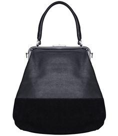 I love the shape of this bag! Luxury Bags, Luxury Handbags, Diy Wallet Pattern, My Bags, Purses And Bags, Frame Bag, Hip Bag, Types Of Bag, Work Wear