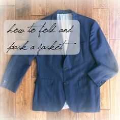 how to pack jackets to avoid wrinkles | une femme d'un certain âge
