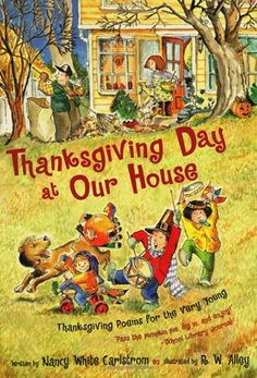 Thanksgiving book poems for kids